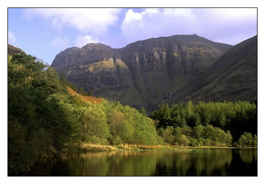 Bidian Nam Bian (the highest mountain in Glencoe, & visible from Tom-na-Creige)
